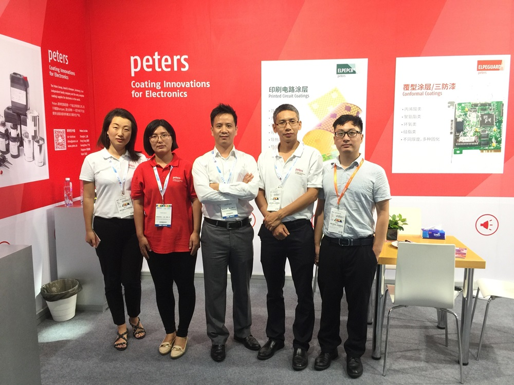 Peters at Nepcon South – a big success