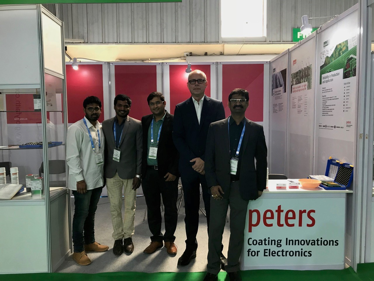 Productronica / Electronica India 2018 in Bangalore