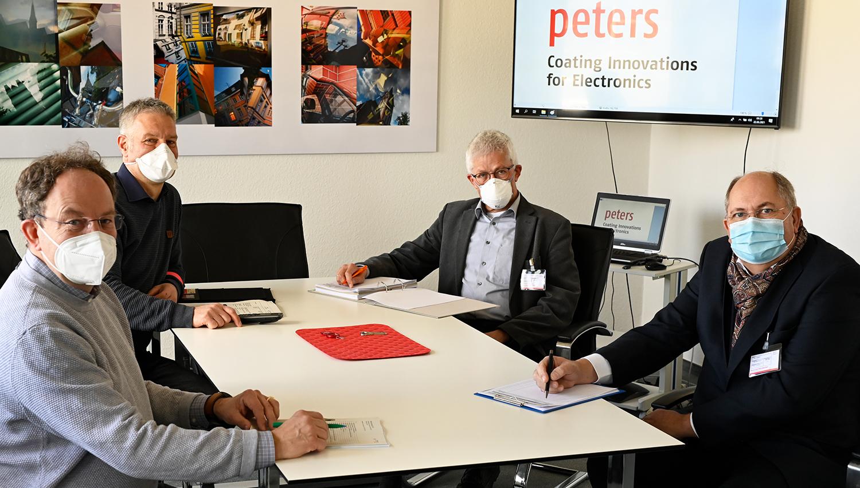 Qualitäts-Norm ISO 9001 ist für Peters Standard