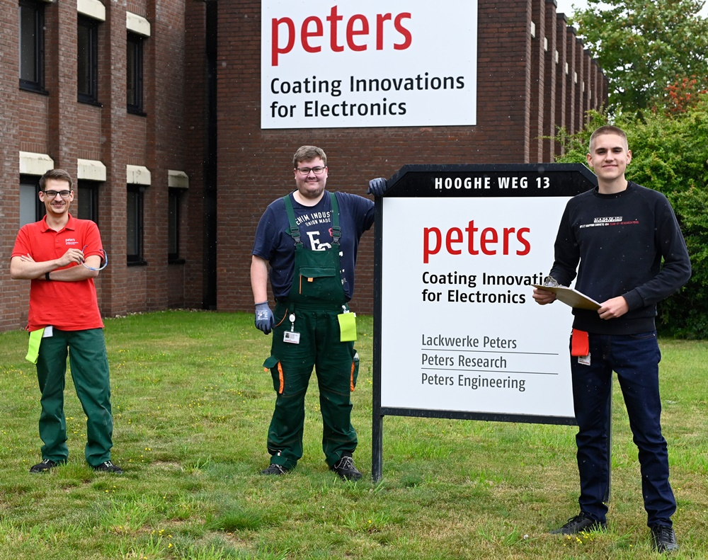 """Ausbildung bei Peters: """"Chemie ist cool"""""""