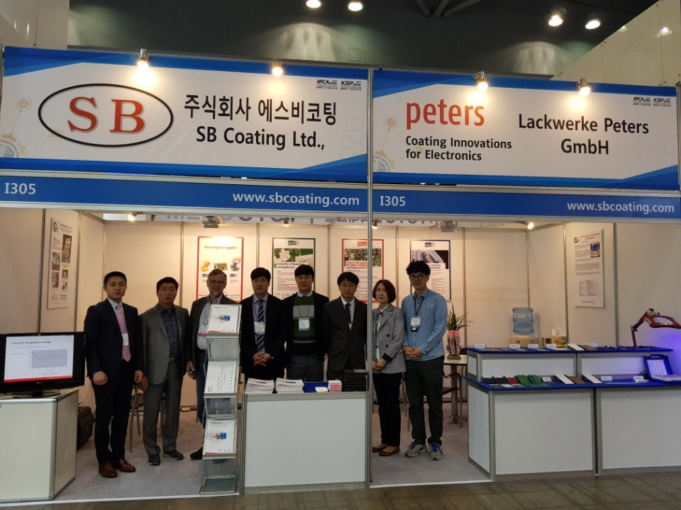 Peters participates in the 14th Electronic Circuit World Convention in South Korea