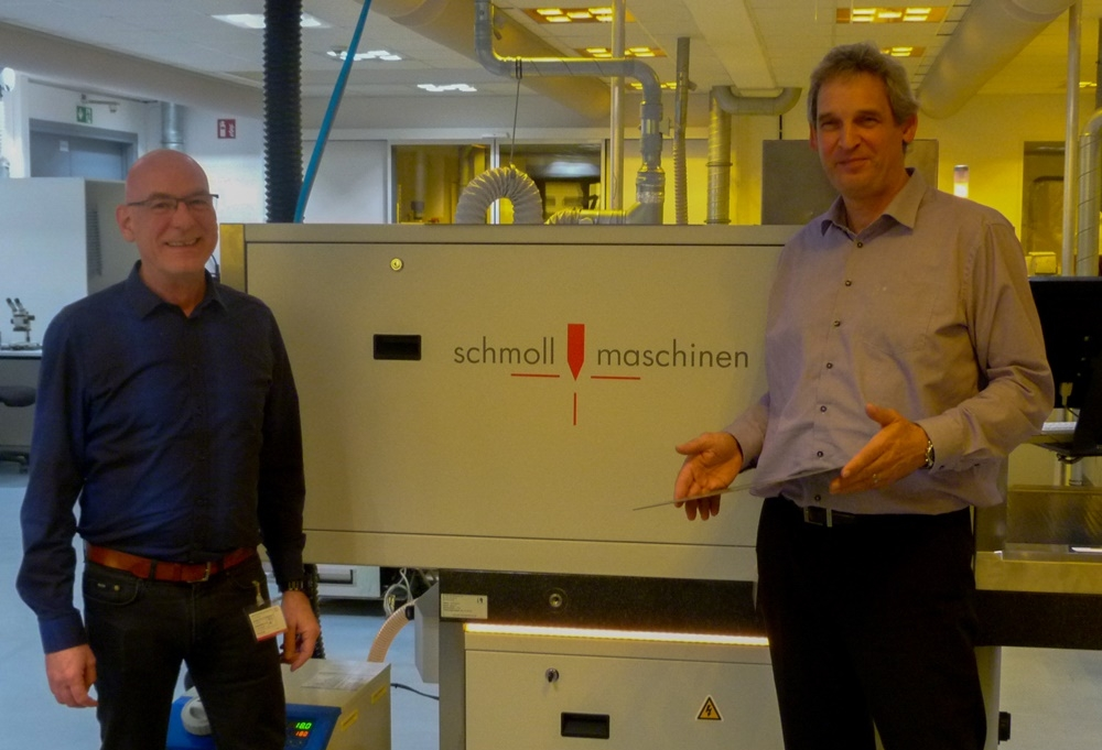 Schmoll Direct Imaging System Installed in Elpemer Showroom