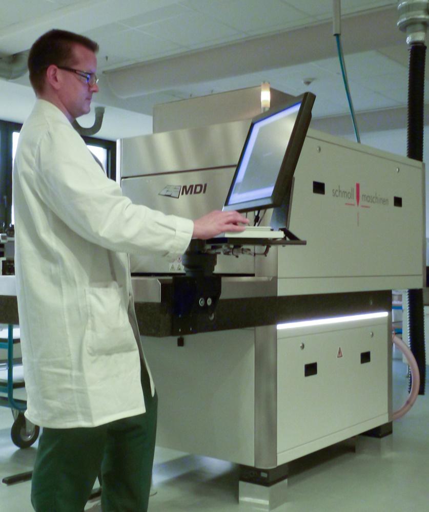 Schmoll Direct Imaging System Installed in Elpemer Showroom