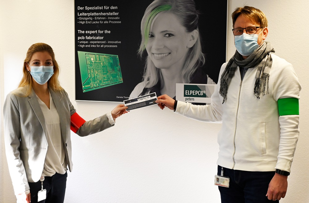 Creativity of Peters employees reduces microplastics